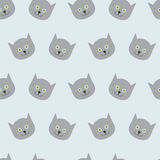 Kitten pattern Stock Images