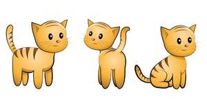Kitten set Royalty Free Stock Image