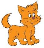 Kitten (vector clip-art) Royalty Free Stock Photography
