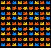 Kitten wallpaper stock illustration