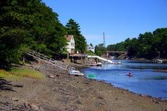 Kittery, Maine Fotografía de archivo libre de regalías