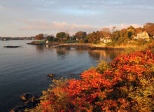 Kittey Point, Maine Stock Images