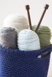 Kitting Yarn Royalty Free Stock Photos