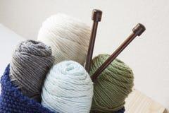 Kitting Yarn Stock Image