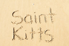 Kitts Άγιος Στοκ Εικόνα