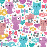 Kitty cat illustration Stock Photo