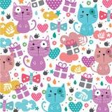 Kitty cat illustration Stock Photo