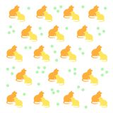 Kitty cat pattern Royalty Free Stock Photo