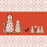 Kitty Cats stock illustrationer