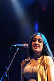 Kitty, Daisy and Lewis (band) performs at Apolo Royalty Free Stock Photo
