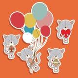 Kitty design Royalty Free Stock Photos