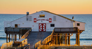 Kitty Hawk Pier Stock Images