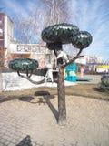 Kitty from Lizukov Str. In Voronezh stock photo