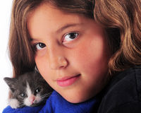Kitty Lover Stock Photos