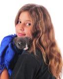 Kitty Lover Royalty Free Stock Photos