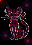 Kitty noir Photos libres de droits