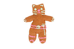 Kitty Softpaws gingerbread cookie Stock Photo