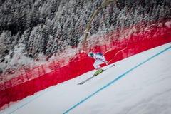 Kitzbühel Hahnenkamm Downhill Ski Race royalty free stock images