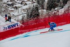Kitzbühel Hahnenkamm Downhill Ski Race royalty free stock photos