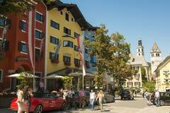 Kitzbuehl, Австрия Стоковое фото RF