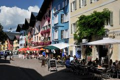 Kitzbuhel Royalty Free Stock Photo