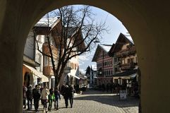 Kitzbuhel Royalty Free Stock Photography