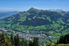 Kitzbuhel et klaxon de Kitzbuheler Photo stock
