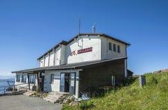 Kitzbuhel pieklift in de Tirolean Alpen, Oostenrijk stock foto's