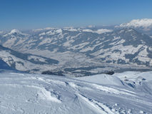 Kitzbuhel ski resort Royalty Free Stock Photography