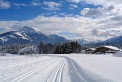 Kitzbuheler horn, Tirol, Austria Royalty Free Stock Photos