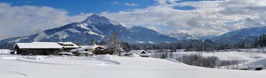 Kitzbuheler róg, Tirol, Austria Obraz Royalty Free