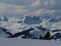 Kitzbuhell山 免版税库存图片