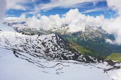 Kitzsteinhorn, Austria Stock Images