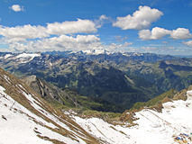Kitzsteinhorn glacier in summer Stock Photography