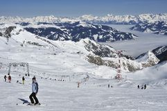 Kitzsteinhorn Ski Resort Stock Photography