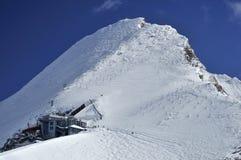 Kitzsteinhorn Ski Resort, Salzburger land, Österrike arkivfoton