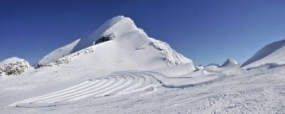 Kitzsteinhorn Ski Resort, Salzburger land, Österrike fotografering för bildbyråer