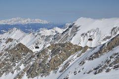 Kitzsteinhorn Ski Resort, terre de Salzburger, Autriche image stock