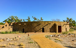 Kiva - ацтек губит национальный монумент - ацтек, NM Стоковое Изображение RF