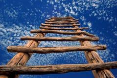 kiva梯子天空 库存图片