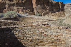 Kiva in Chaco Canyon Royalty Free Stock Photos