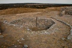 A Kiva at Gran Quivira ruins Stock Image