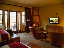 Kiva Lodge Room at Gateway Canyons Resort stock photos