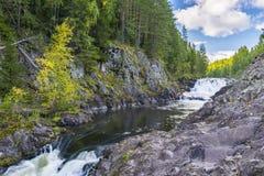 Kivach Falls Stock Photos
