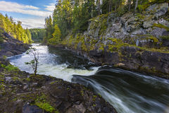 Kivach Falls Royalty Free Stock Images
