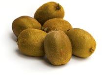 Kivi fruit isolated on white background Stock Images