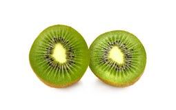 Kivi fruit on white background Royalty Free Stock Images