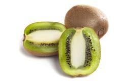 Kivi fruit on white Stock Image