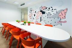 Kivvi建筑师创造的办公室内部,布拉索夫,斯洛伐克 库存照片