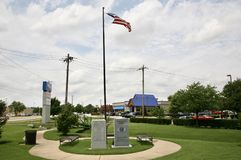 Kiwanis parquea, Millington, TN imagenes de archivo